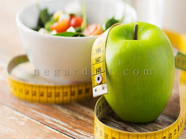 رژیم لاغری سیب