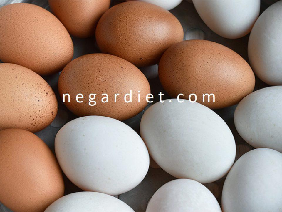 تخم مرغ محلی یا ماشینی