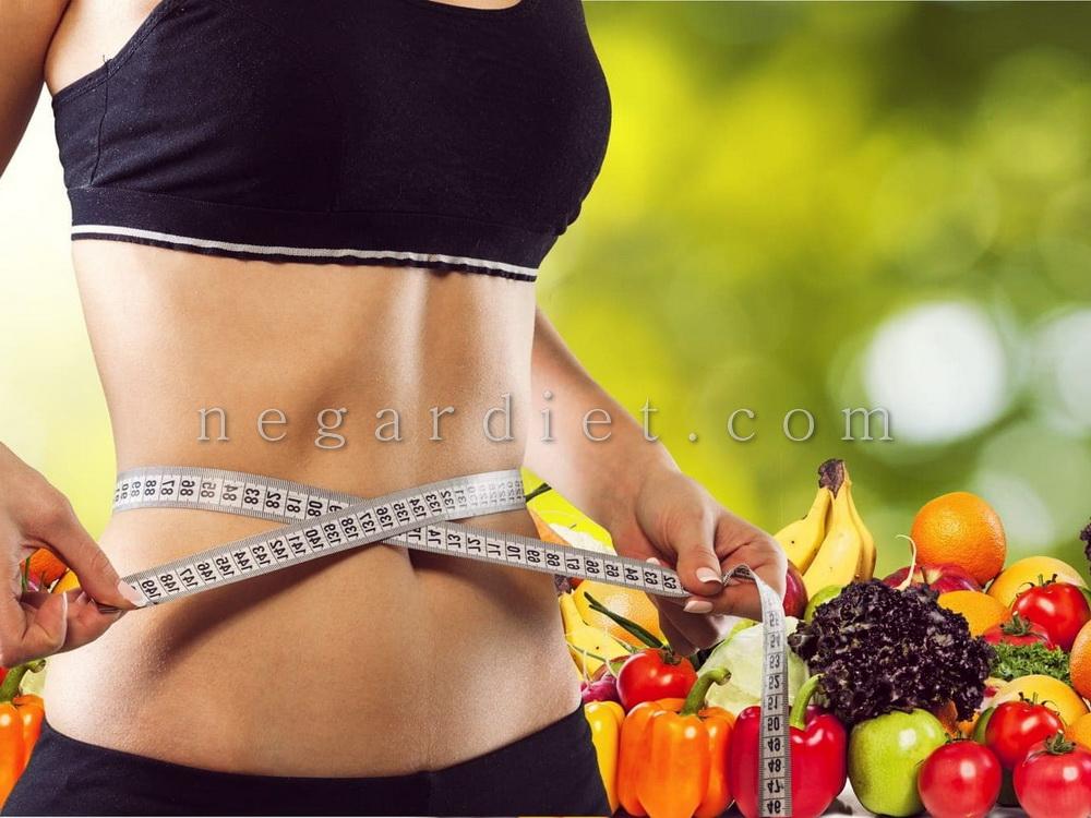 رژیم غذایی برای لاغری شکم